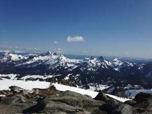 View from Panorama Point on Mt. Rainier
