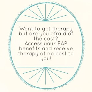 EAP benefits provide therapy sessions at no cost to the employee.