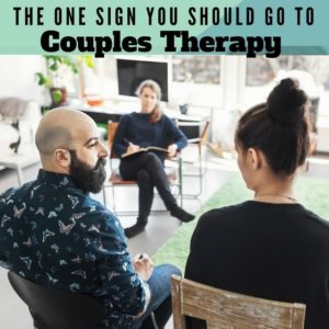 Signs Couples Should Go To Therapy