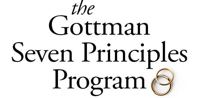 gottman s seven principles for making marriage work program dk therapy